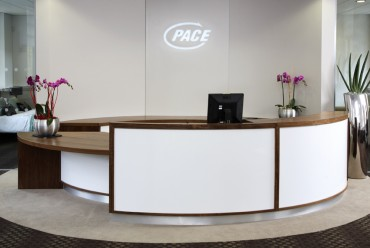Pace plc Reception Area